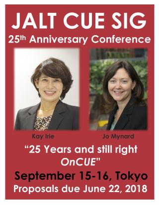 2018 CUE SIG Conference